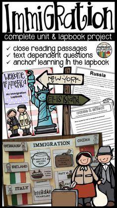 Immigration Unit Plan Immigration Unit 6th Grade