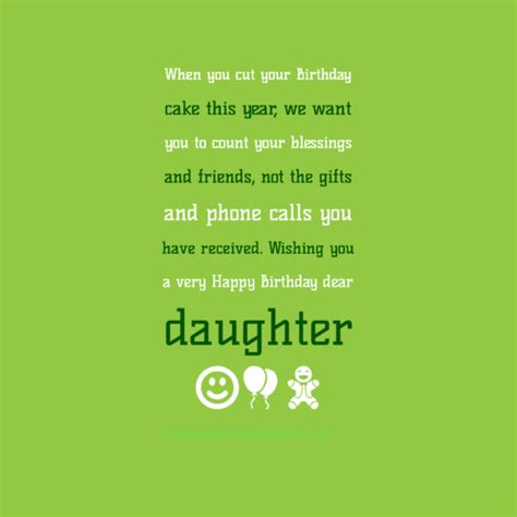 Quotes For Daughters Birthday From Inspirational Quotes For Daughters Birthday Quotesgram