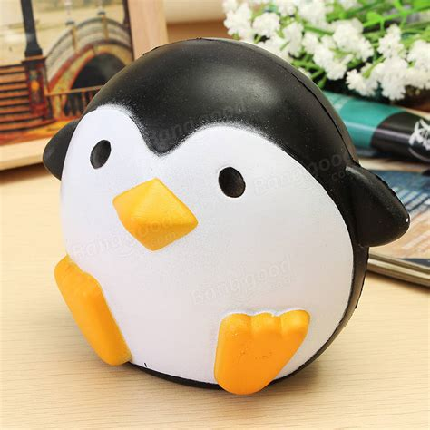 Squishy Ibloom Penguin Squishy Pinguin Squishy Penguin squishy penguin 10cm rising soft kawaii animals collection gift decor sale