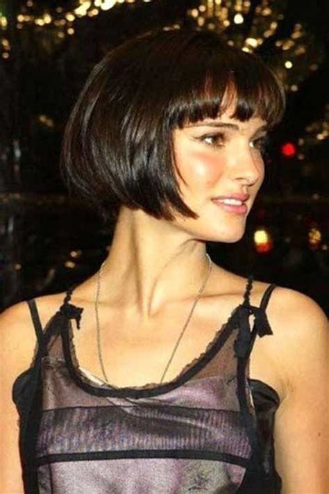 brunette bob hairstyles with bangs 20 brunette bob hairstyles 2014 short hairstyles 2017