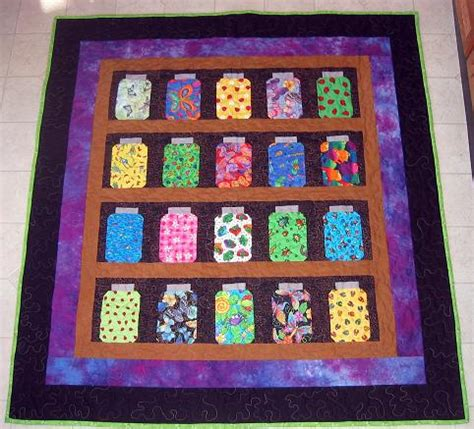 Quilting Bug by Bug Jar Quilt Finished Bunks