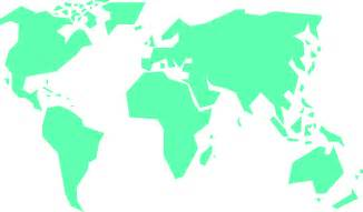 simple map of simple world map clipart best