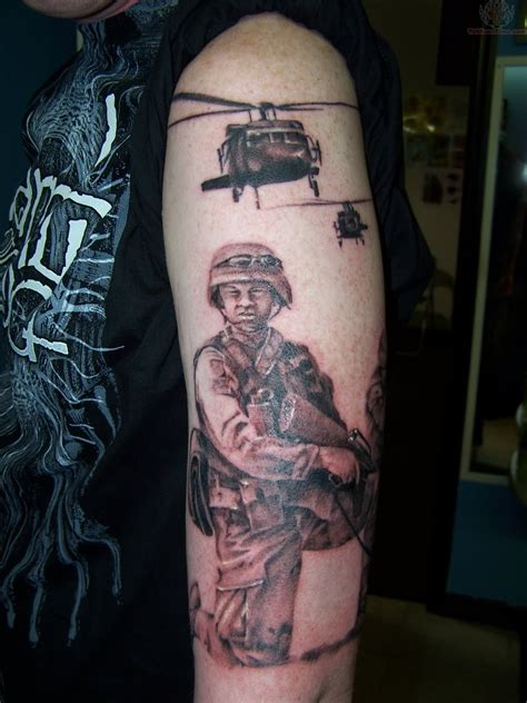tattooed soldier army tattoos designs ideas and meaning