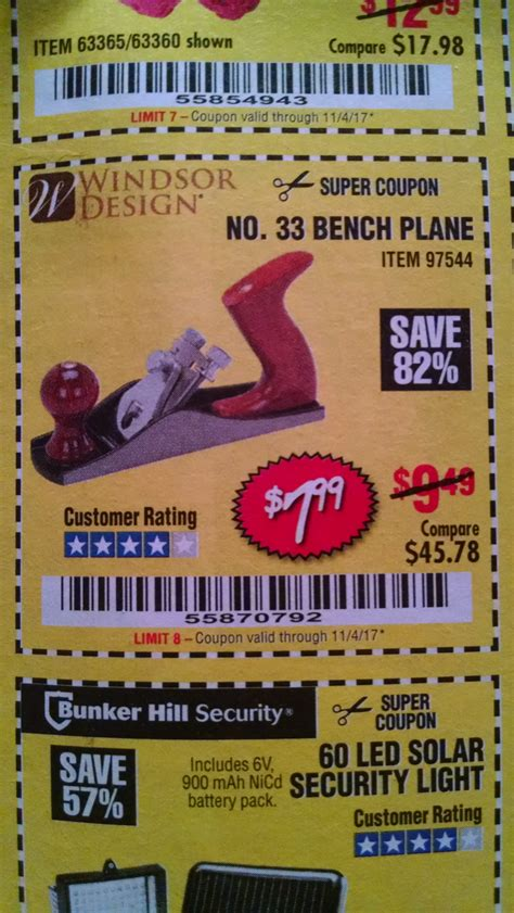 bench discount codes harbor freight tools coupon database free coupons 25