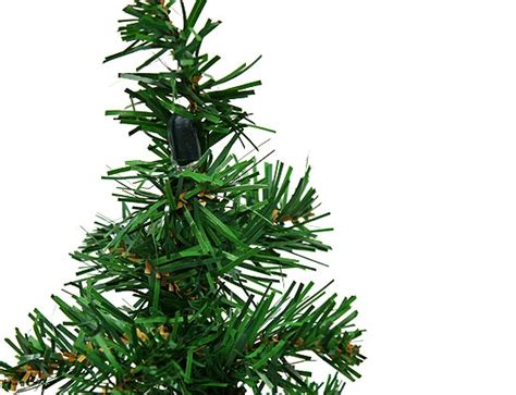 16 quot mini artificial pine christmas tree with wire base