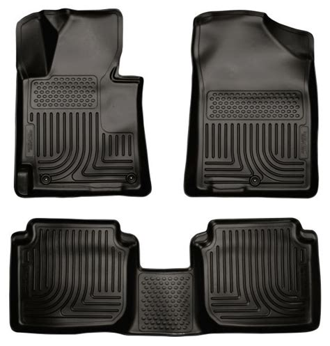 Floor Mats For Hyundai Elantra by Husky Liners 98891 Weatherbeater Floor Mats 11 13 Hyundai Elantra