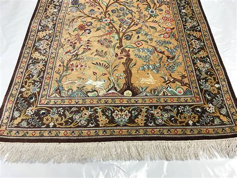 tree of rug traditional rug ghom silk tree of angle pv rugs