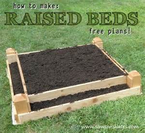 How To Prepare Raised Garden Bed - how to make a diy raised garden bed
