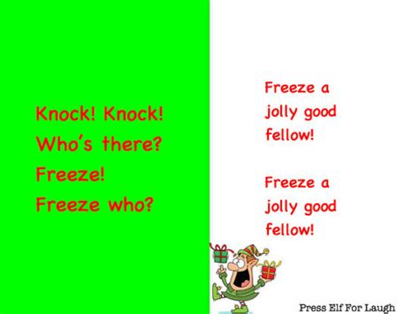 printable children s knock knock jokes christmas jokes for kids knock knock christmas decore