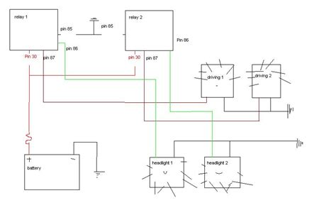 spotlight wiring diagram negative switching 43 wiring