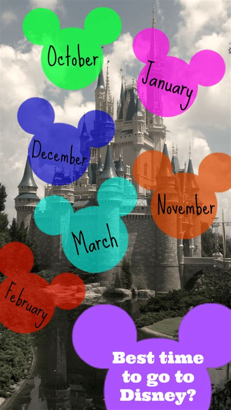 best time visit when is the best time to visit disney world