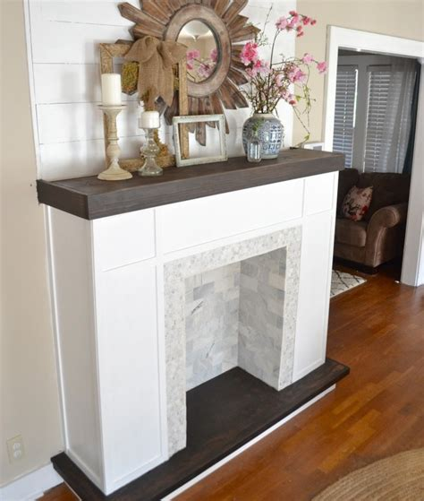 fireplace faux how to make a faux fireplace hirerush