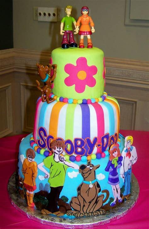 scooby doo cakes decoration ideas  birthday cakes