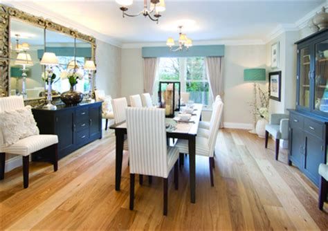 Show Home Dining Room by Five Bed Detached Unveiled At Liskeard Villas Open Weekend