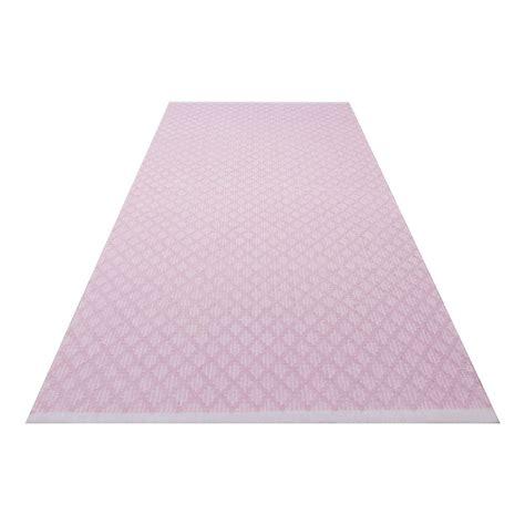 teppich vorleger teppich vorleger checky rosa 70x140cm kidsdepot kaufen