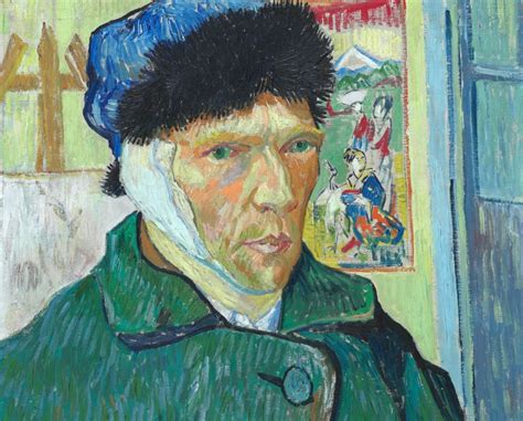 van gogh ear ma curating talk vincent van gogh self portrait with