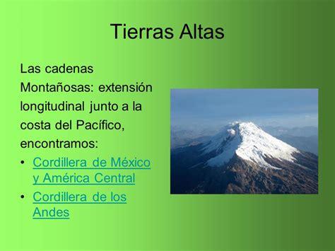 cadenas montañosas en america geograf 237 a f 237 sica ppt video online descargar