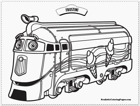 Chuggington Coloring Pages Realistic Coloring Pages Chuggington Coloring Pages