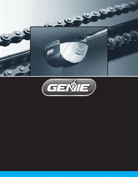 Genie Garage Door Opener Owners Manual genie garage door opener 1042 user guide manualsonline