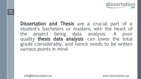 thesis data analysis data analysis for dissertation