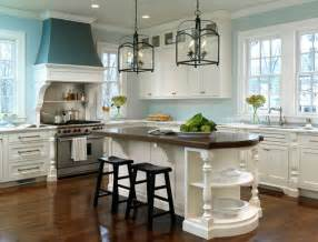 light blue kitchen walls gorgeous white kitchen with light blue walls pictures