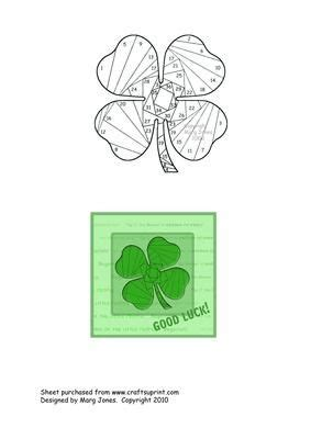 Four Leaf Clover Hairband 459 best images about iris folding on iris