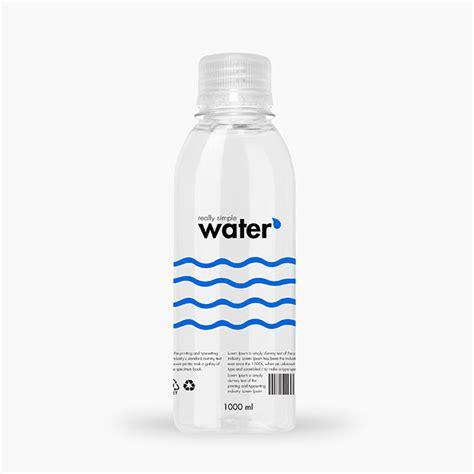 Design Your Own Home Online 3d Packreate 187 Distilled Water Plastic Bottle 1000ml Mockup