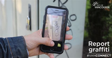 report graffiti use our app to report graffiti city of vancouver