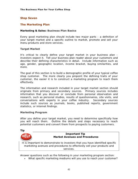 Business Letter For Coffee Shop Pro Bp Coffee Shop Business Plan