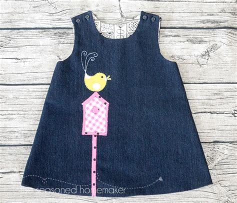 A Line Dress for Baby Girl   The Seasoned Homemaker