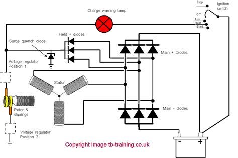 integral voltage regulator wiring diagram get free image