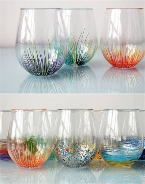 Crafts With Vases by Diy Colorful Vase Decor Craft Ideas