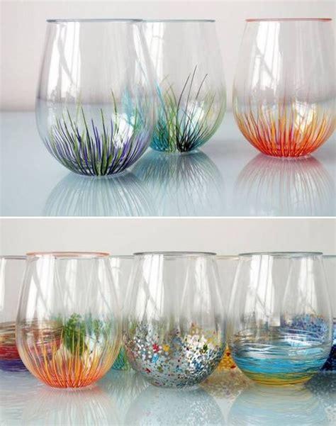 diy colorful vase decor craft ideas