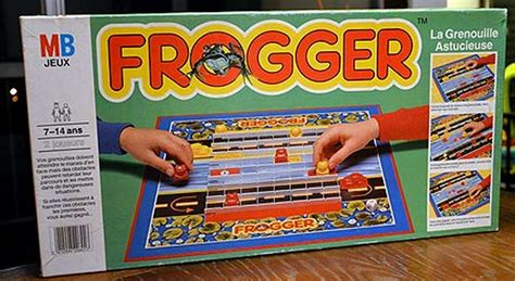 gioco da tavolo frogger gioco da tavolo mb giochi
