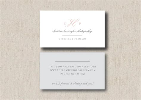 wedding photography business cards templates instagram templates eucalyptus