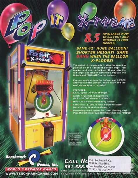 pop it the arcade flyer archive arcade flyers pop it x