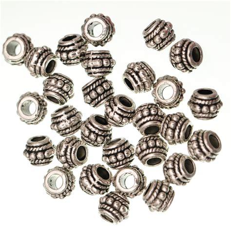 metal for jewelry wholesale 10pcs tibetan silver spacer wheel