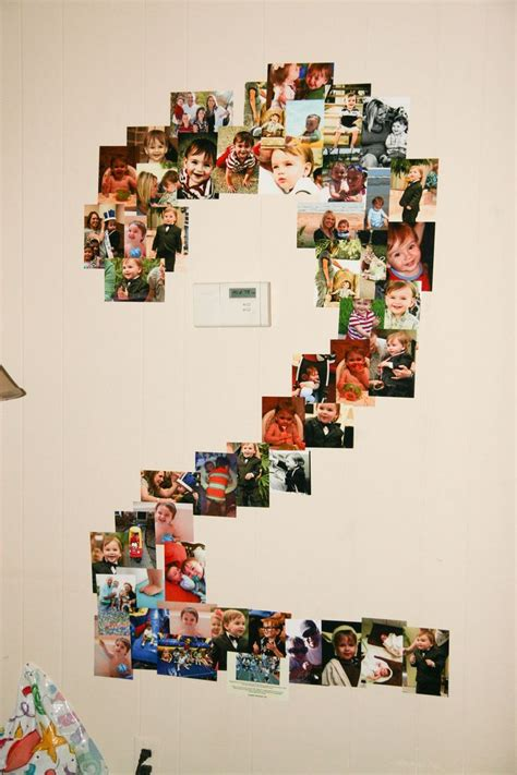 2nd birthday decorations at home 17 best ideas about birthday photo collages on pinterest