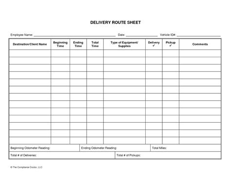 Template Truck Log Book Template Truck Log Book Template