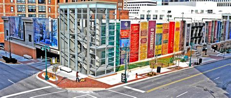 the most beautiful parking garage in america the design kansas city public library parking garage most beautiful