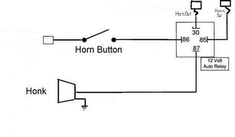 bosch horn relay diagram wiring diagram and schematics