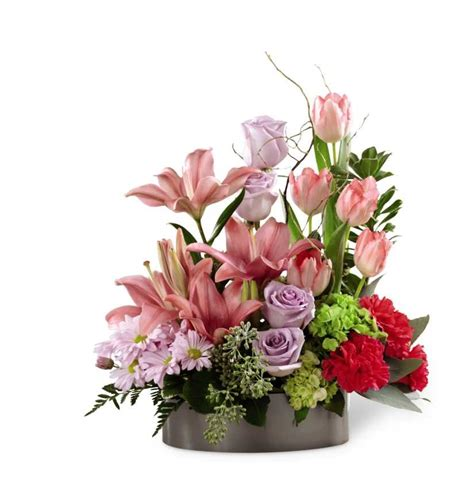 Top 10 Ftd Flower Bouquets by The Ftd Garden Of Grace Planter In Mascoutah Il Flowers