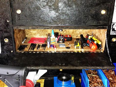 ultimate reloading bench building the ultimate reloading gun workbench