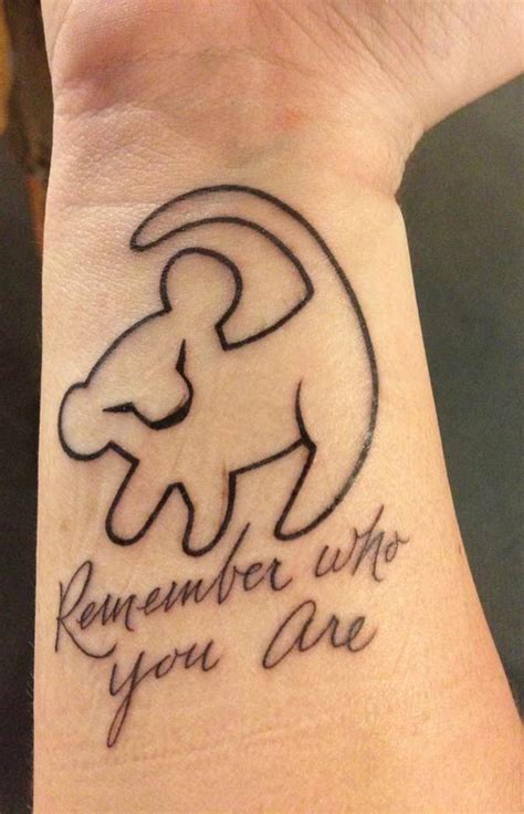 lion king silhouette tattoo danielhuscroft com
