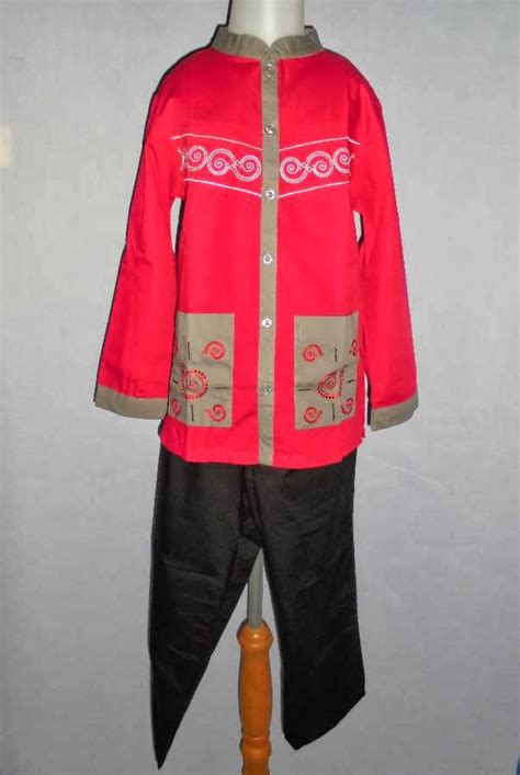 Baju Anak Merah No 8 baju anak branded dan baju muslim anak branded