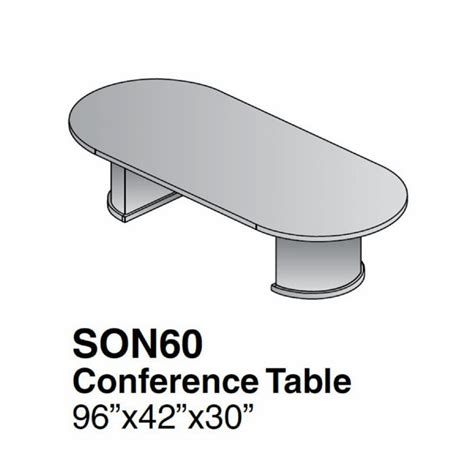 Racetrack Conference Table 8ft Racetrack Conference Table Cherry Wood