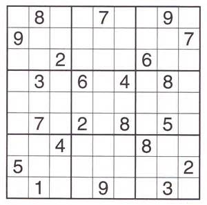 Printable Sudoku Sheets Printable Sudoku Puzzles 3 Coloring Kids