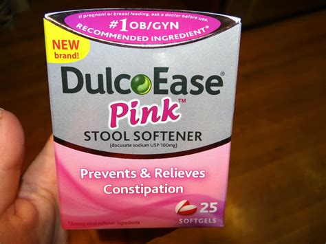 Stool Softener Pregnancy by Dulcoease Pink Is An Absolute Most For Mamas