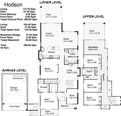 floor plans for sloping blocks 9 best images about houses on sloping blocks on
