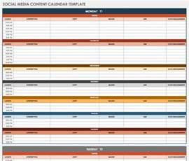 Social Media Content Calendar Template Free Social Media Calendar Templates Smartsheet